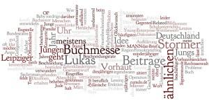 Wordle mit dem RSS-Feed von blog.phimose-info.de